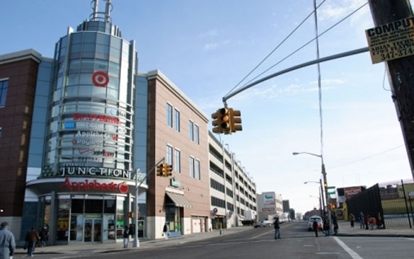 The Junction in Flatbush could be an ideal site for a bus terminal. (Source: flatbushjunctionbid.com)