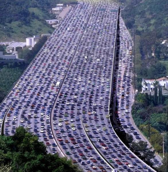 Traffic. Ugh. Source: Samuel Leo / Flickr