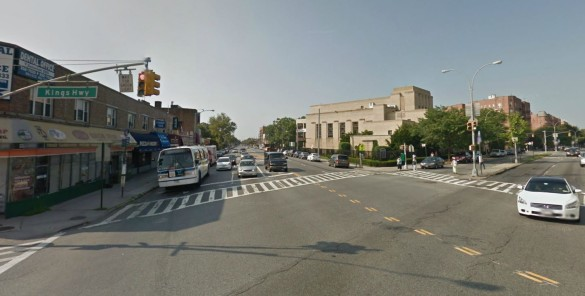 Kings Highway and Nostrand Avenue. (Source: Google Maps)