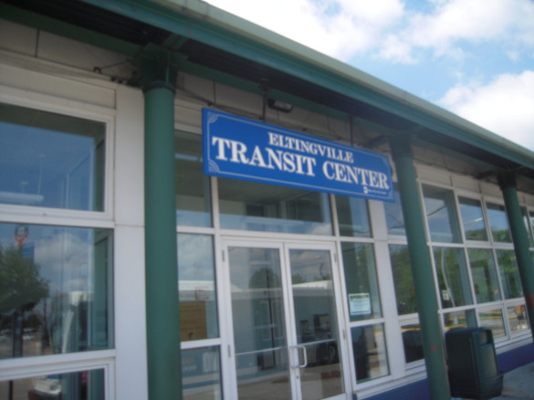 The Eltingville Transit Center in Staten Island. Photo by Allan Rosen