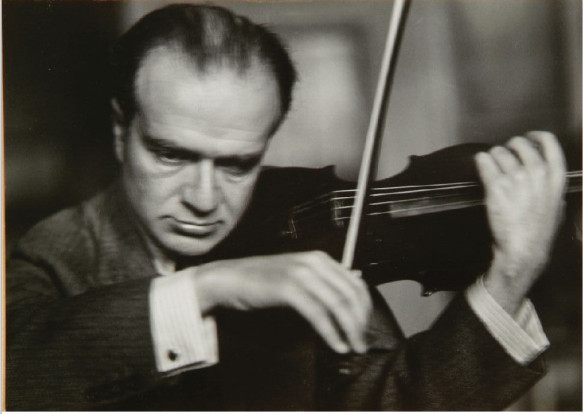 Bronislaw Huberman, founder of the Israel Philharmonic. Source: bronislawhuberman.com