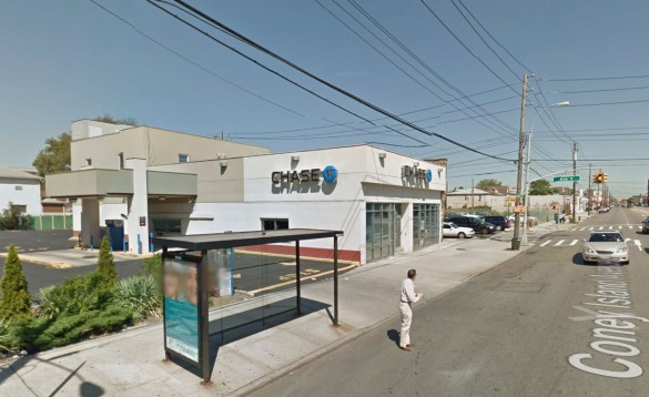 Chase Bank at 1500 Coney Island Ave (Source: Google Maps)