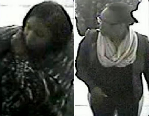The suspects were captured by surveillance video at the Avenue U Telco.