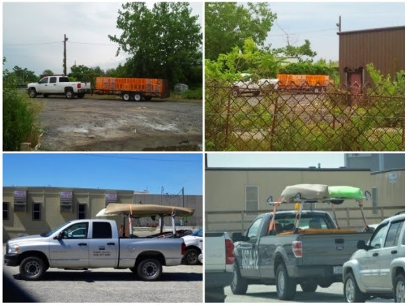 Photos of the staging area at the Fountain Avenue landfill. (Source: GooseWatch NYC)