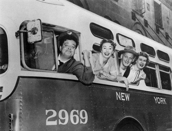 Ralph Kramden, the granddaddy of Brooklyn bus drivers. Source: Wikipedia