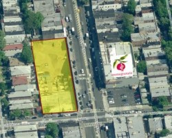 The site of the proposed development. (Source: CPEX Retail Leasing)
