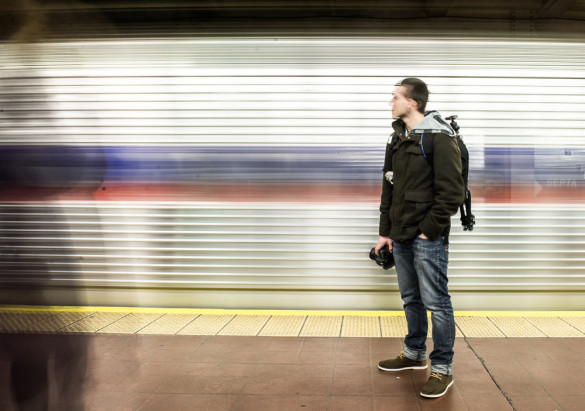 The oft-embattled, unfairly treated subway photographer. Source: Joshua Todd / Flickr