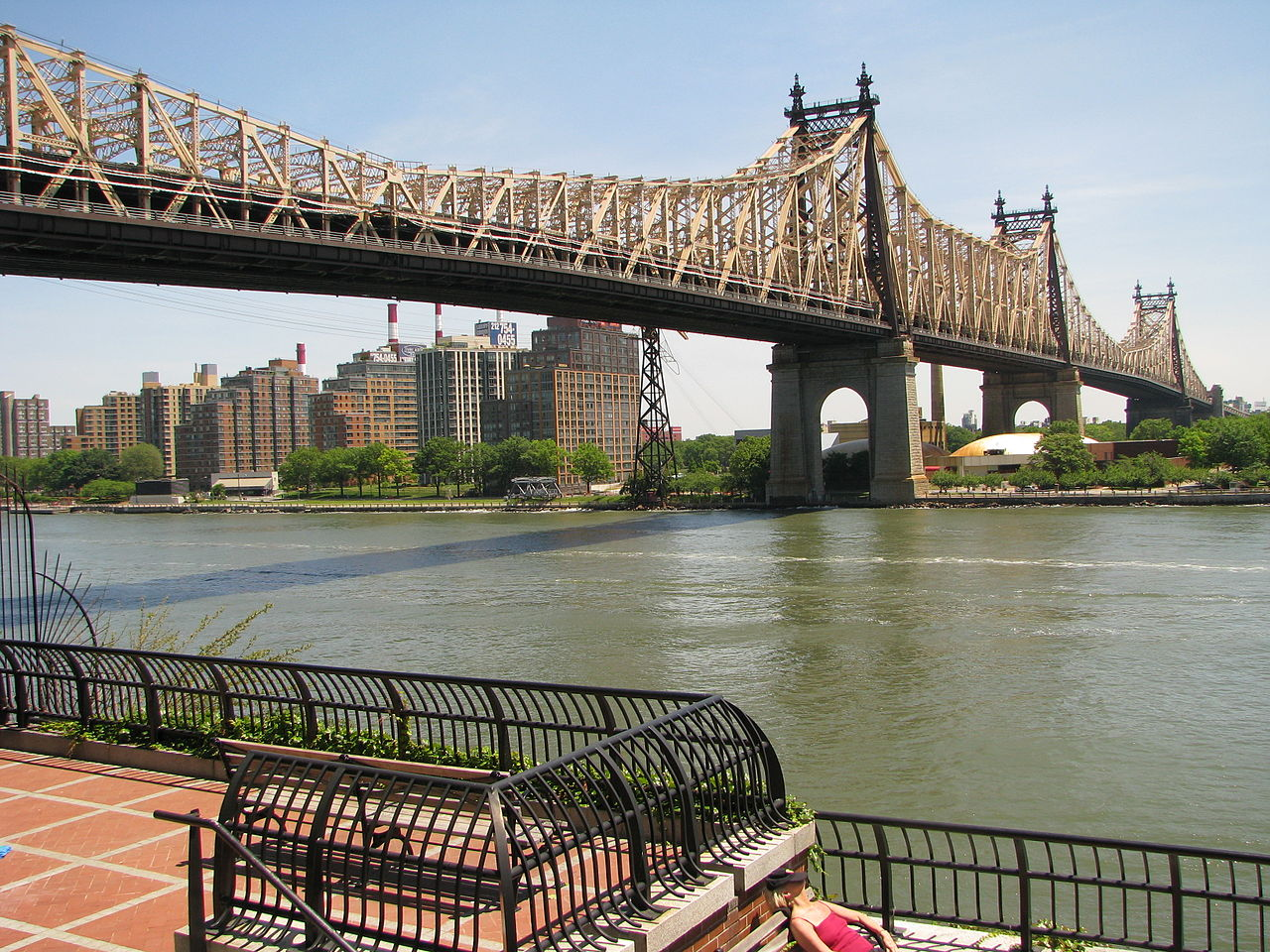 The famed Ed Koch Queensboro Bridge, which connects Queens and Manhattan. Source: Wikipedia